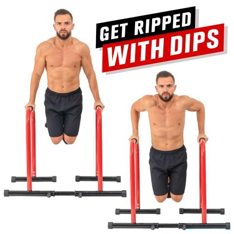 GoBeast Dip Stand & Stability Bar